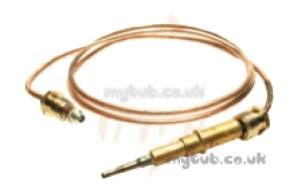 Thermocouples Boiler Spares -  Thermocouple Honeywell Q309a 900mm Type 703064pc