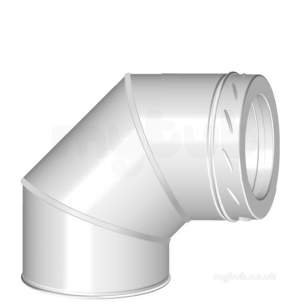 SFL Sw Chimney Flue -  Sfl Nova Sm 90 Deg Elbow 200mm 4575908n