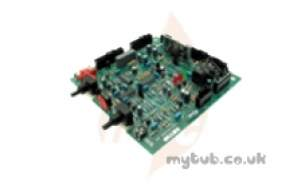 Sime Boiler Spares -  Sime 6230667 Main P C B And Wiring
