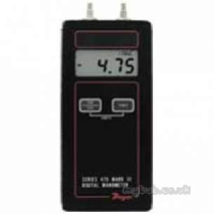 Dwyer Instruments Magnehelic Gauges -  Dwyer 475 000fm Handheld Digital Manometer