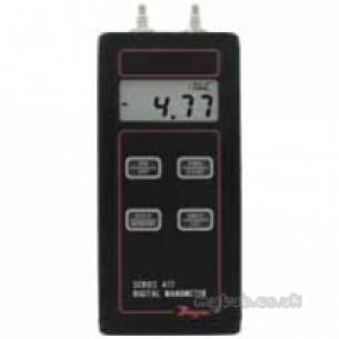 Dwyer Instruments Magnehelic Gauges -  Dwyer 477 3 Digital Manometer 0-200 Inch Wg
