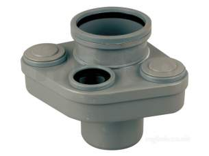 Wavin Certus Products -  Wavin 110mm Soil Manifold 4cs595e