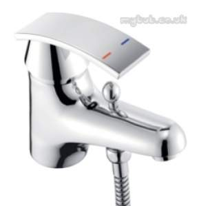 Pegler Luxury Bathroom Brassware -  Rossi 4g4037 Single Lever Mono Bsm