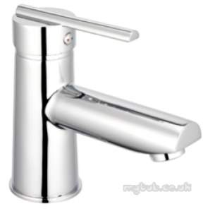 Pegler Luxury Bathroom Brassware -  Pulsar Sl Eco Mono Basin Mix Cw Flip Wst