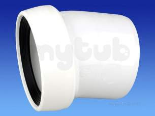 Wavin Certus Products -  110mm P/e Wc Connector 14 Cwc711w
