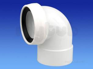 Wavin Certus Products -  110mm Sw/s Wc Connector 90 Cwc772w