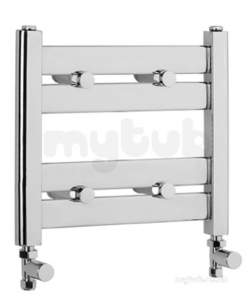 Eastbrook Towel Rails -  5.886 Staverton 360 X 400 Chrome