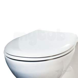 Eastbrook Sanitary Ware -  50.002 Loire Soft Close Seat White