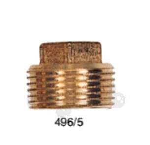 Brass Bushes Sockets and Plugs -  Midbras 3/4 Inch Brass Square Head Plug