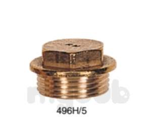 Brass Bushes Sockets and Plugs -  Midbras 3/4 Inch Flanged Brass Plug