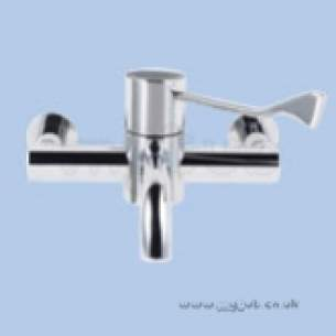 Twyfords Commercial Sanitaryware -  Sola Sf1015 Wall Mounted Tmv3 Therm Seq Basin Mixer Sf1015cp