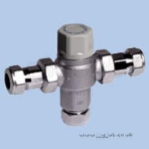 Twyfords Commercial Brassware -  Twyford Sf1037xx Therm Mixing Valve Tmv3 Sf1037xx
