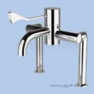 Twyfords Commercial Brassware -  Sola Sf1017 D/mtd Retro Fit Kit Sf1015 Sf1017cp