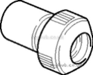 Hep2O Pipe and Fittings -  Hep20 22mm X 15mm D/f Socket Reducer Hd2