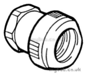 Hep2O Pipe and Fittings -  Hep20 3/4 Inch X22mm T/f Fem Sockt Adapt Hx28