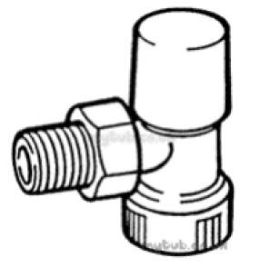 Hep2O Pipe and Fittings -  Hep20 15mm T/f Rad/ls Valve Hx73