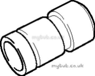 Hep2O Pipe and Fittings -  Hep20 22mm X 15mm Slimline Socket Red Hx2