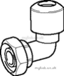 Hep2O Pipe and Fittings -  Hep20 15mm X 1/2 Inch Sline Bent Tap Cn Hx27
