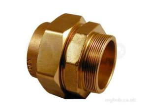 Yorkshire Endbraze Fittings -  Endex N69p-eb Mi Str Connector 67x2.1/2