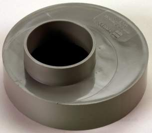 Center Soil Waste and Overflow -  Center Reducer 110mm X 50mm Grey 1 Pack
