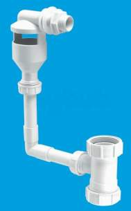 Mcalpine Waste traps overflow -  Mcalpine Tunkit-3 Wc Overflow Kit