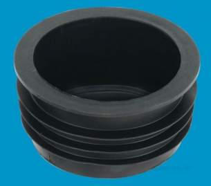 Mcalpine Waste traps overflow -  Mcalpine Cap100 Rubber Blanking Off Cap