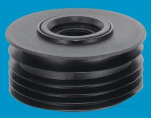 Mcalpine Waste traps overflow -  Mcalpine 4/110x1 1/4 Inch And 1 1/2 Inch Drain Connector