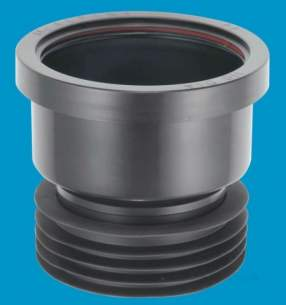 Mcalpine W C Connectors -  Mcalpine Dc1-bl Drain Connector 110mm