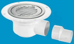 Mcalpine Tsg50ssslsc Seal Shower Gully Stainless Steel