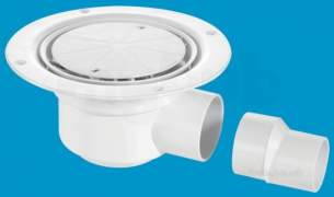 Mcalpine Waste traps overflow -  Mcalpine Tsg50wh Shower Gully 1.25 Inch X 50mm