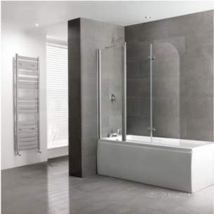Eastbrook Showers -  Volente 1 Fxd 2 Hinge Pnl 1550 X 1475 Sil