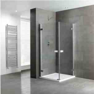 Eastbrook Showers -  Volente 1mx900 Double Hinge Dr Slv