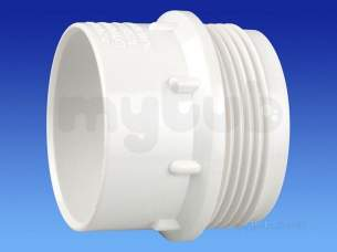 Wavin Certus Products -  40mm Waste-fi Skt Thread Skt 5cz128w