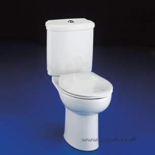Armitage Shanks Luxury Sanitaryware -  Armitage Shanks Accolade S3648 D/f P/button Cistern Only Wh Incls Del