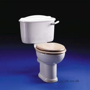 Ideal Standard Wc Seats -  Ideal Standard Classics E4590 Seat Plus Chrome Plated Hinges L Oak
