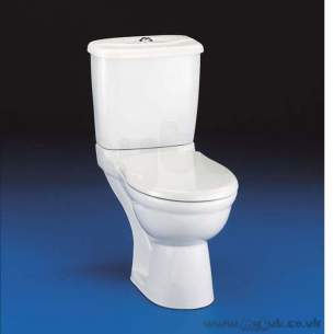 Ideal Standard Wc Seats -  Ideal Standard E7590 Alto Seat And Cover White With Stainless Steel Hinges