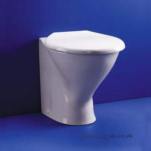 Armitage Shanks Commercial Sanitaryware -  Armitage Shanks Contour Rimless Washdown Btw Pan Only S3420 White