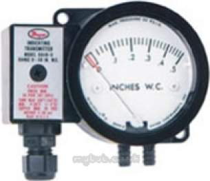 Dwyer Instruments Magnehelic Gauges -  Dwyer 604a 1 Press Transmitter 0-2 0 Inch Wg