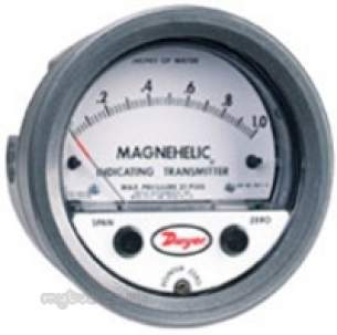 Dwyer Instruments Magnehelic Gauges -  Dwyer 605 0-250 Pa Indicating Transmitter