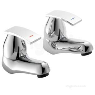 Pegler Luxury Bathroom Brassware -  Rossi Sl Mono Eco Basin Mix-click Waste