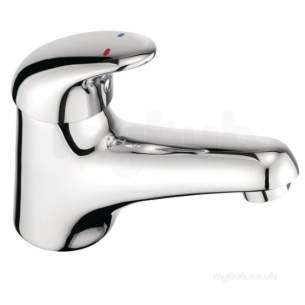 Pegler Luxury Bathroom Brassware -  Haze 464004 Sl Mini Mono Basin-click Waste