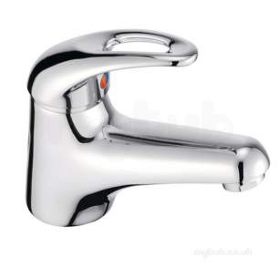 Pegler Luxury Bathroom Brassware -  Izzi 4g4094 Sl Mini Mono Basin-click Waste