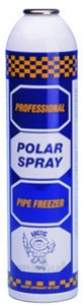 Arctic Pipe Freezing Spray and Accessories -  Polar Spray Refill 700g Canister