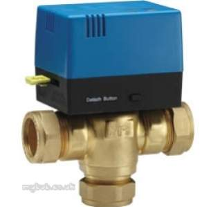 Pegler Domestic Controls and Programmers -  28mm Tmpv28 Terrier Mid Position Valve