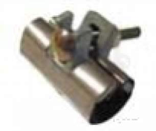 Plasson Fittings -  Ss Repair Clamp 1 Bolt 80 6800 60-66