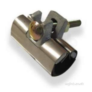 Plasson Fittings -  Ss Repair Clamp 1 Bolt 80 6800 33-38