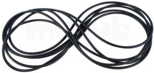 Mhs Radiators And Boiler Spares -  Mhs 846013830 Black Silicone Seal