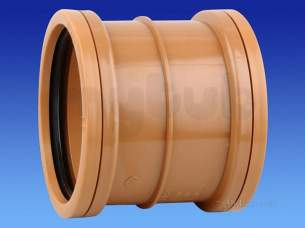 Hepworth Plastidrain -  Hepworth Building 160mm Pvc Repair Coupling 6p02c