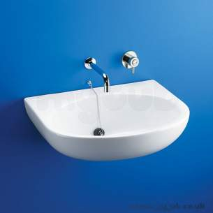 Armitage Shanks Commercial Sanitaryware -  Armitage Shanks Contour S229001 380mm Nth Basin Wh