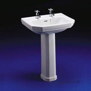 Ideal Standard Classic -  Ideal Standard Plaza E3660 580mm 2th Basin White